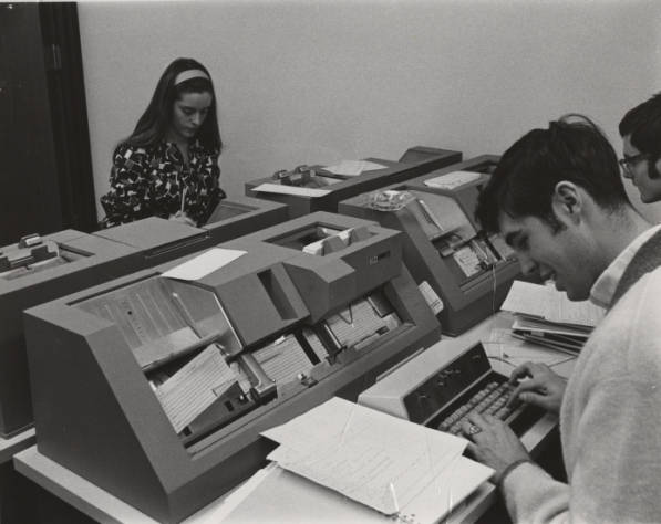 The Computer Center around 1970
